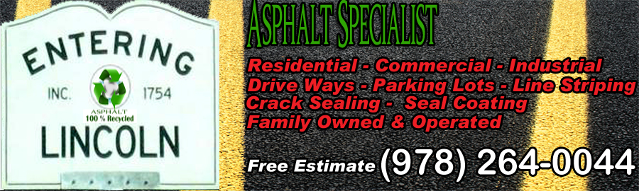 Local Asphalt Paving Specialists Lincoln Massachusetts 01773