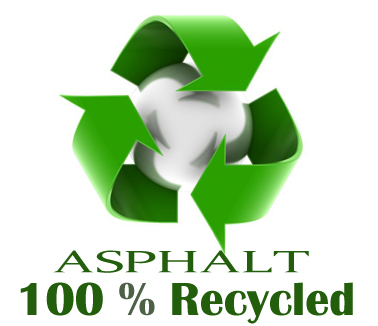 Asphalt 100%  Recycled